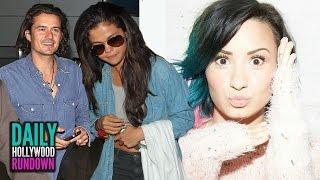 Demi Lovato DISSES One Direction AGAIN - Selena Gomez & Orlando Bloom Caught Together (DHR)