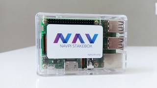 Nav Coin NavPi Stakebox Unboxing (cryptocurrency mining)