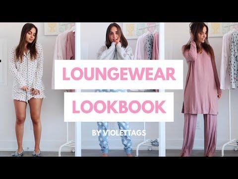 Loungewear & Pajamas Lookbook | Try On 2019