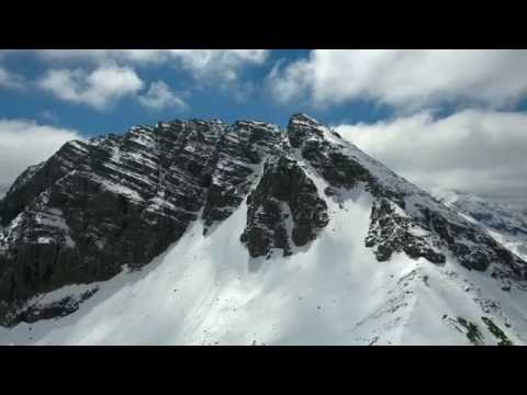 AirTime Beautiful Lech in the Alps - 4K