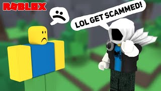 Will you Scam A Noob? ~ROBLOX Honesty Test