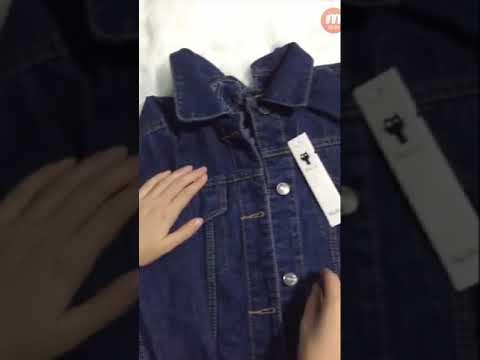 Áo Khoác Jean Nữ đan Dây Lưng Siêu đẹp. Chỉ 250k Thôi Và Nhớ Cho Mình 1 Like Và đăng Kí Kênh Nhé
