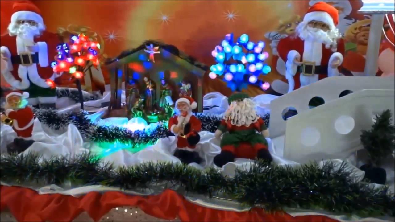 Natal Decoraç u00e3o de Natal em mesa temática para festa de aniversário infantil YouTube -> Decoração De Aniversario Infantil Com Tnt