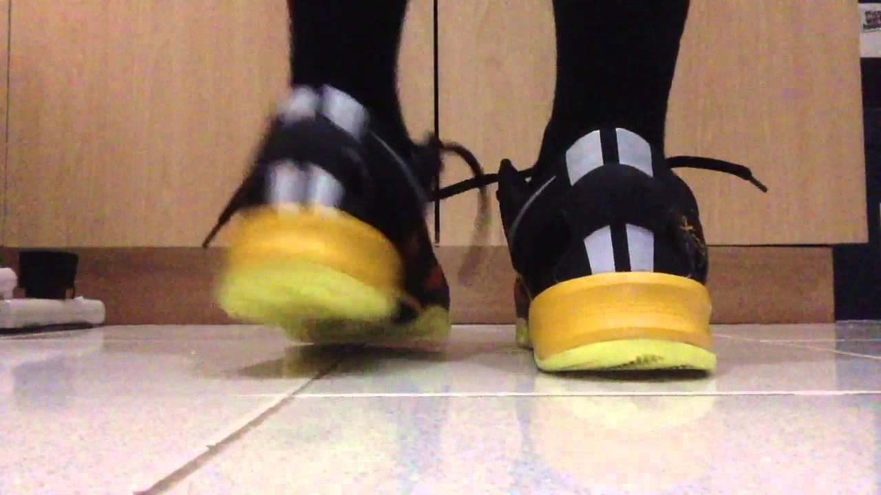 2b8f8243dfa3 Kobe 8 Sulfur (Replica) On Feet - YouTube