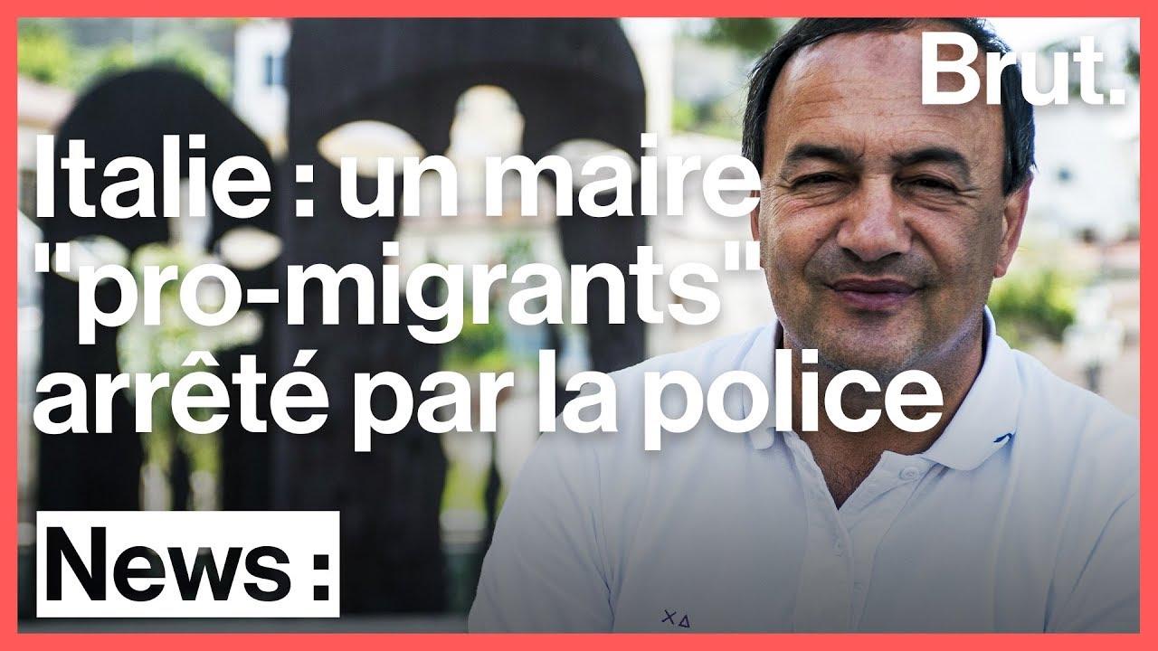 """Un maire italien """"pro-migrants"""" arrêté"""