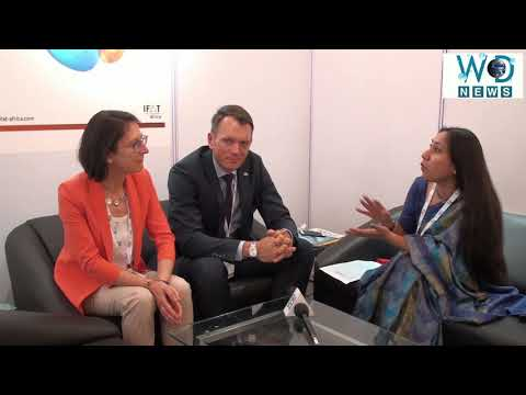 Mr. Christian Rocke & Ms Katharina Schlegel interact with WD News| Exclusive