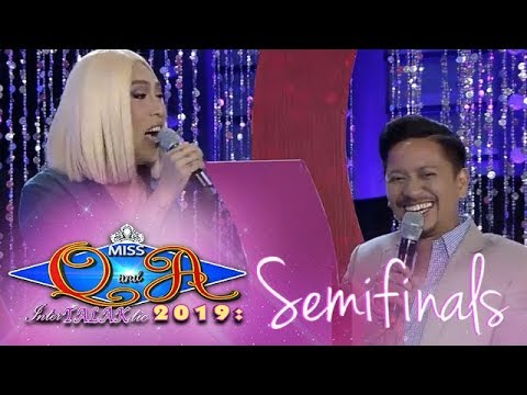 It's Showtime Miss Q & A: Vice Ganda and Jhong argues about a nail