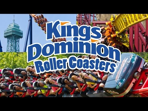 The Roller Coasters of Kings Dominion