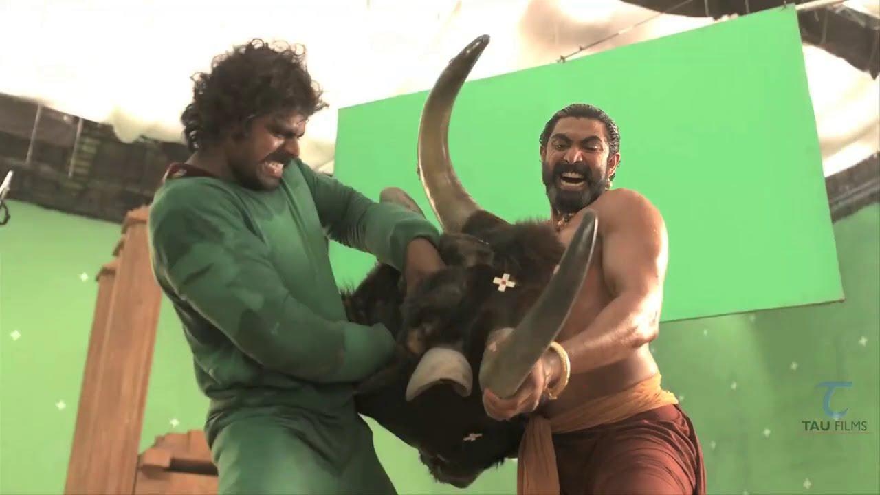 Download Making of Bahubali VFX || Bhallaladeva's(Rana) bull fight sequence VFX Breakdown ||HD 720p