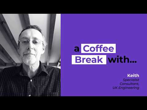 A coffee break with Keith