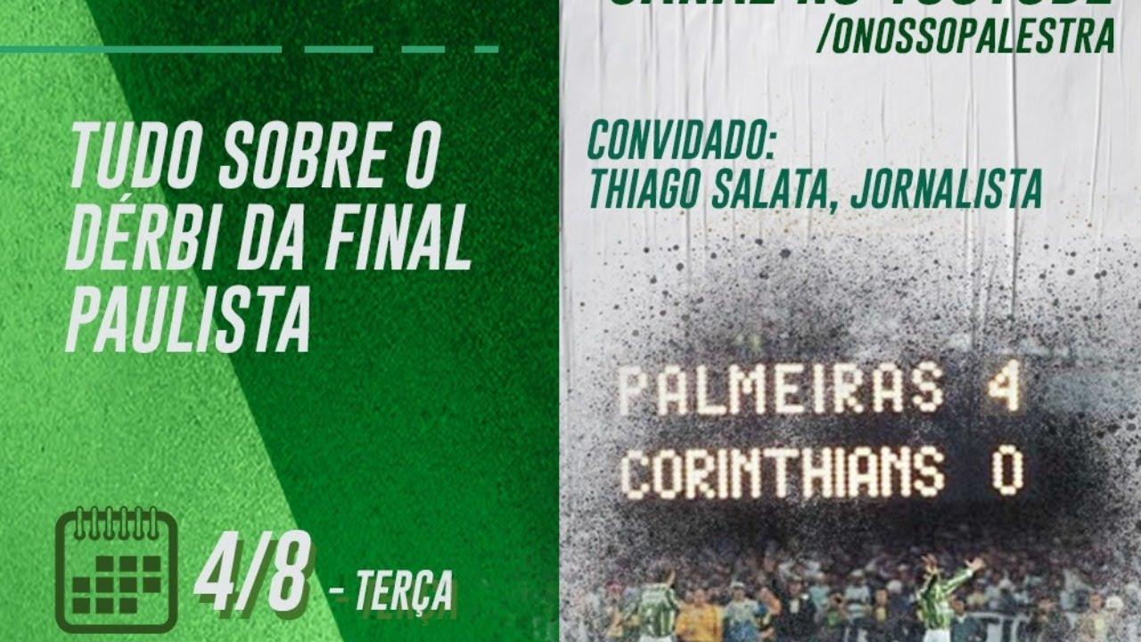 Live com MAURO BETING E THIAGO SALATA! - Tudo sobre o Dérbi da final paulista