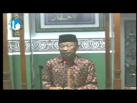 Taushiyah Tarawih Rabu, 14 Juni 2017 - KH. Memed Sururi