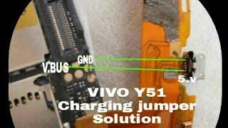 VIVO Y51L CHARGING 100% JUMPER SILUTION by GK MOBILE SOLUTION
