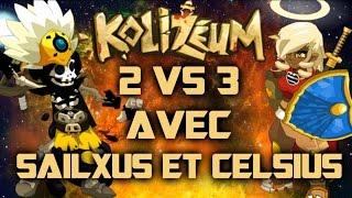 2 VS 3 en Kolizéum avec Sailxus & Celsius ! SPAM RÉSEAUX