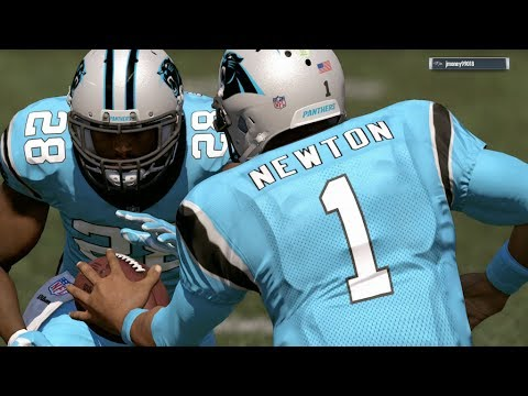 2017-2018 NFL PREVIEW SERIES PART 9: Carolina Panthers - Madden 17 Online Gameplay