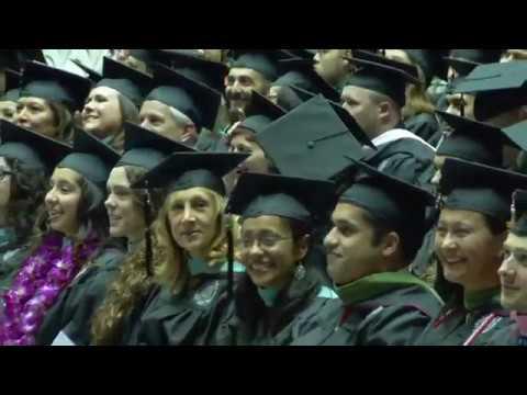 UNM Graduate Commencement - Fall 2016
