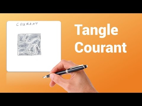 How to draw tangle Courant