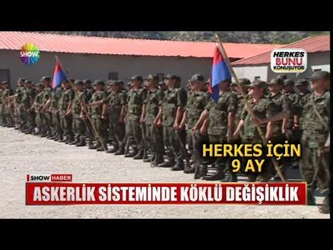 Askerlik Sisteminde Köklü Değişiklik