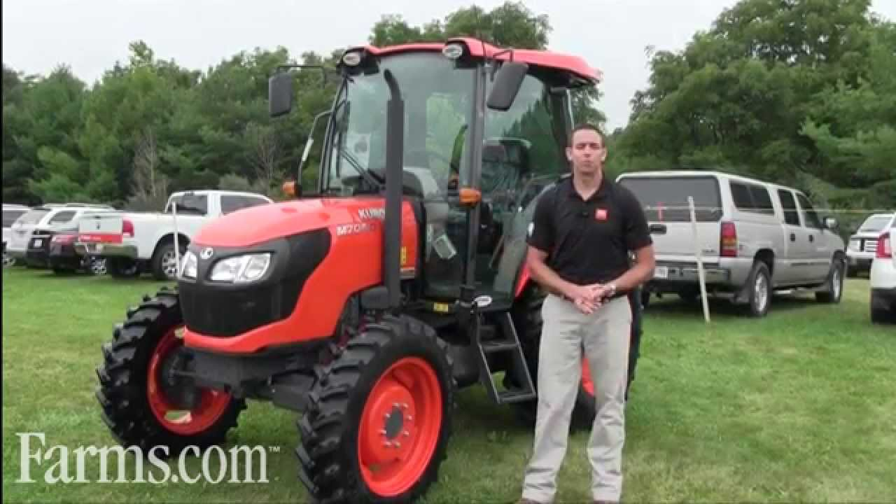 New Kubota M7060 Tractor: Features Tier 4 Engines