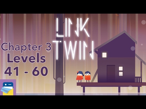 Link Twin: Chapter III (3), Levels 41 - 60 Walkthrough & iOS iPad Gameplay (by Carbon Incubator)