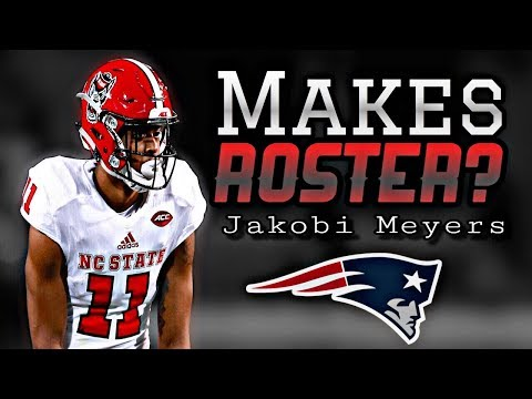 Can Patriots Undrafted Rookie WR Jakobi Meyers make the final roster?