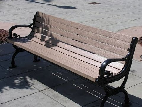 replacement outdoor bench slats with recycled plastic YouTube