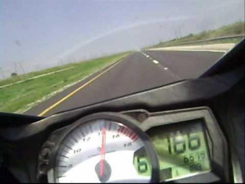 GSXR 600 top speed - YouTube