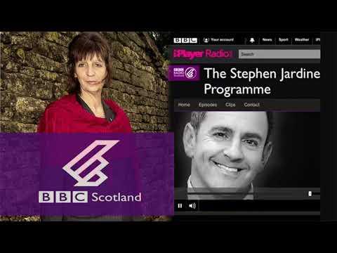 Jane Harris talks to Stephen Jardine BBC Radio Scotland
