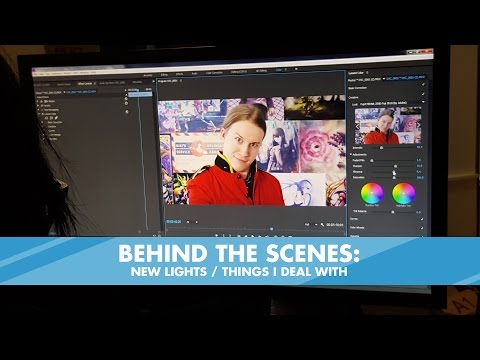 Behind the Scenes: New Lights / Things I Deal with
