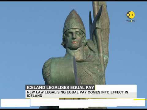 Iceland legalises equal pay, becomes first country in the world to legalise it