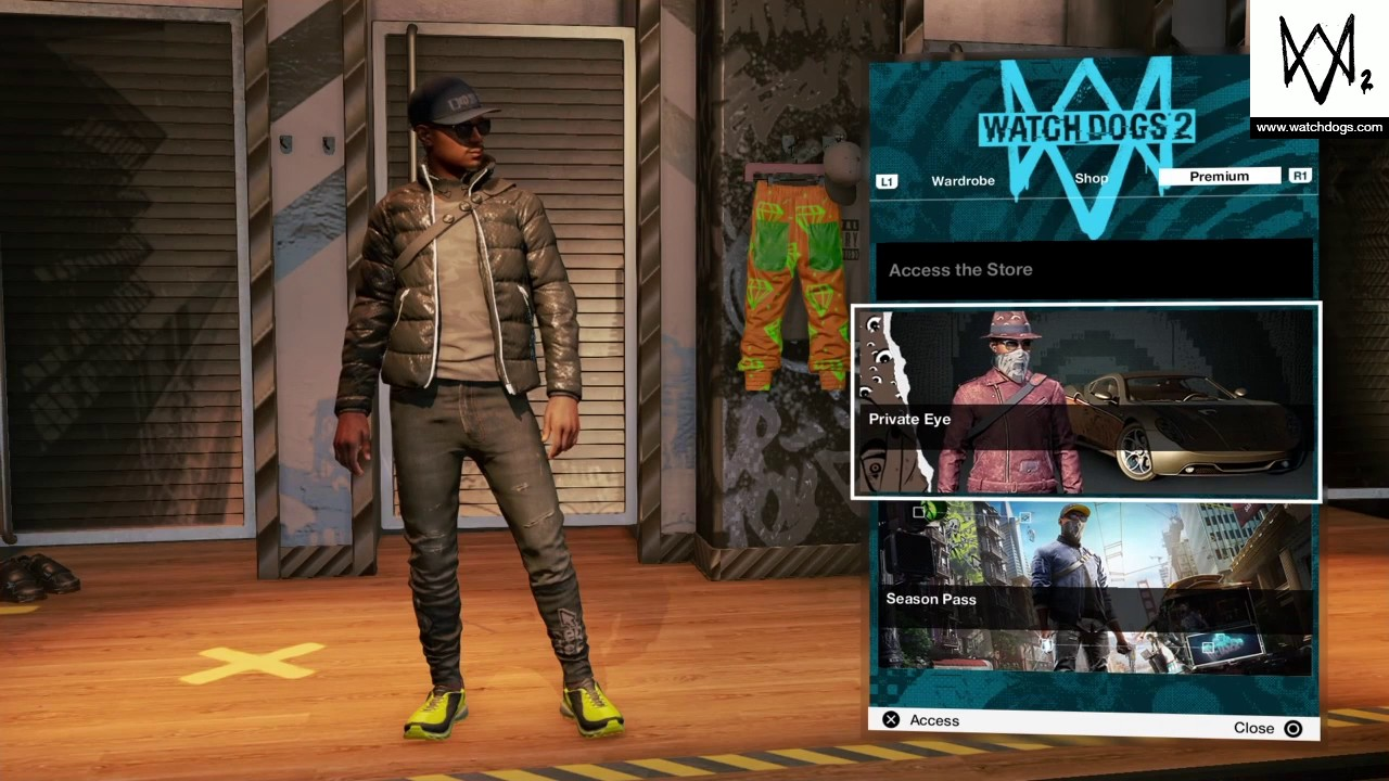 Watch Dogs 2 Clothes Youtube