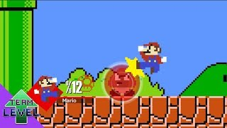 If Super Mario Bros. had Smash Bros. Physics