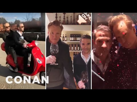 Conan & Jordan's Instagram Stories From #ConanItaly - Part 2  - CONAN on TBS
