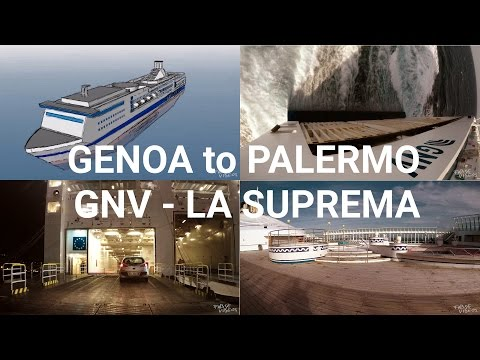 Genoa to Palermo - A Journey by Ferry – La Suprema GNV