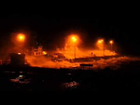 Storm in Ireland (Inishbofin island, Co Galway), 3rd Jan 2014