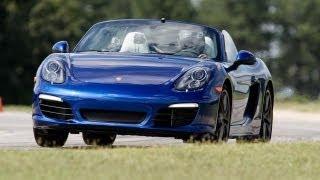2013 Porsche Boxster S - 2013 Lightning Lap - LL3 Class - CAR and DRIVER