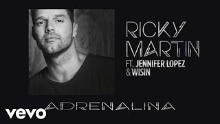 Gambar cover Wisin - Adrenalina ft. Ricky Martin, Jennifer Lopez (Spanglish Audio)