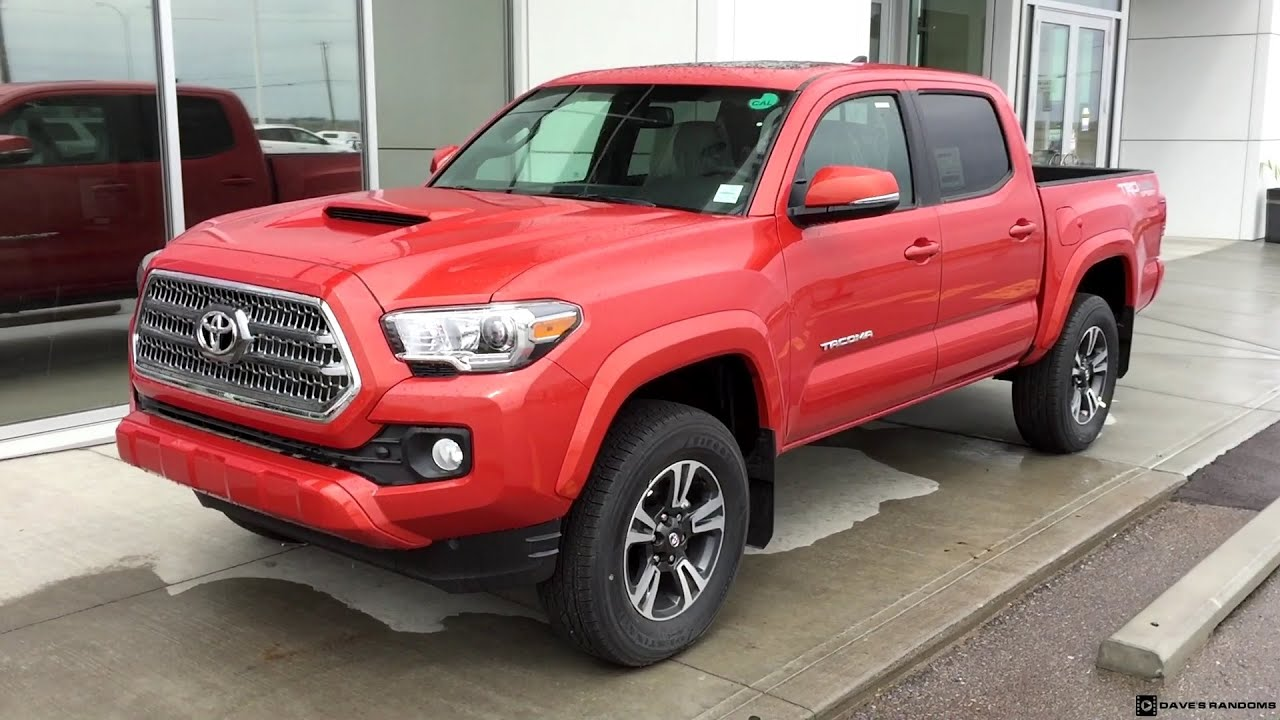 2016 Inferno Toyota Tacoma Trd Sport Short Bed