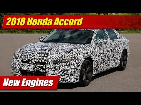 2018 Honda Accord New Engines
