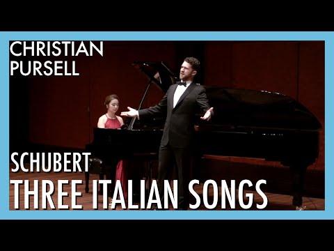 Three Italian Songs D. 902 - Franz Schubert