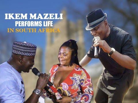 IKEM MAZELI PLAYS LIFE IN SOUTH AFRICA