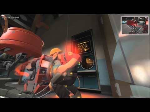 Team Fortress 2 - Engineer Infiltrates Enemy Base - 2Fort (Gameplay)