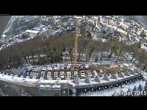Michaelsberg Siegburg: Zeitraffer Juni 2014 bis Oktober 2015