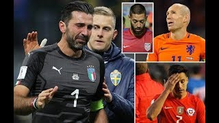 5 Biggest Teams that Failed To Qualify 2018 FIFA World Cup