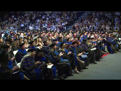 St. Thomas University's Commencement Ceremony, May 13, 2017