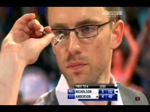 Paul Nicholson Perfect 132 Checkout to Win - 2009 PDC UK Open