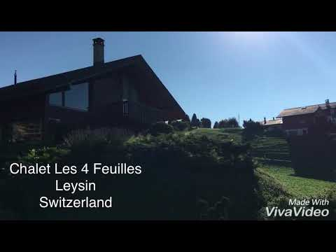 Chalet Les 4 Feuilles ,Apartment For Rental ,Homestay,Hotel at Leysin Village ,Lausanne Switzerland