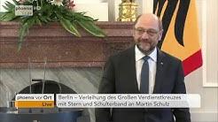 Großes Verdienstkreuz: Verleihung an Martin Schulz am 02.12.2016