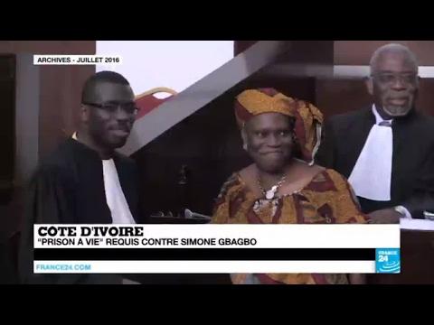 """Côte d'Ivoire : """"prison à vie"""" requis contre Simone Gbagbo"""