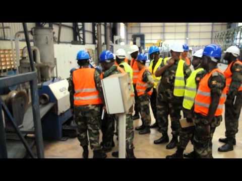 UPDF visits Roofings Rolling Mills